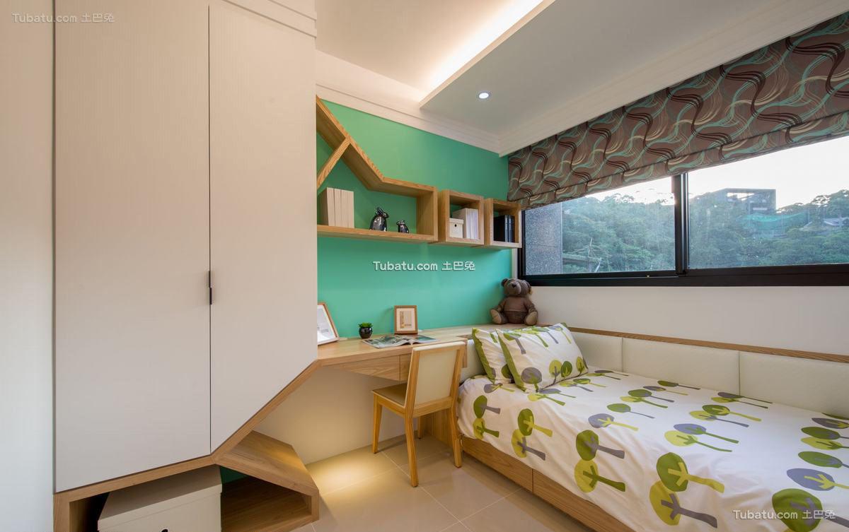 宜家风格设计儿童房装修图片