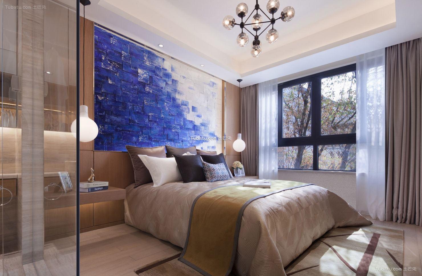 北欧设计卧室吊顶欣赏