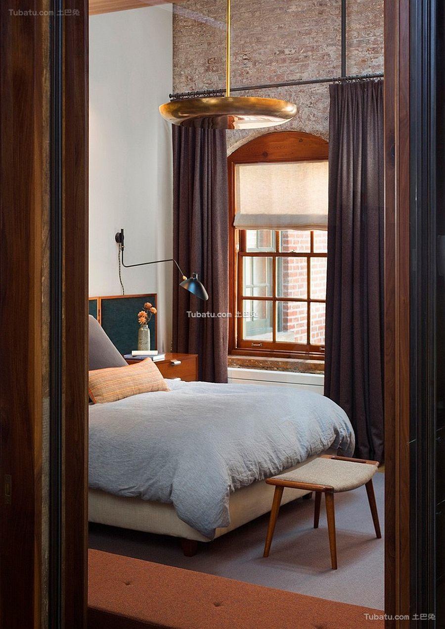 混搭loft设计卧室效果图