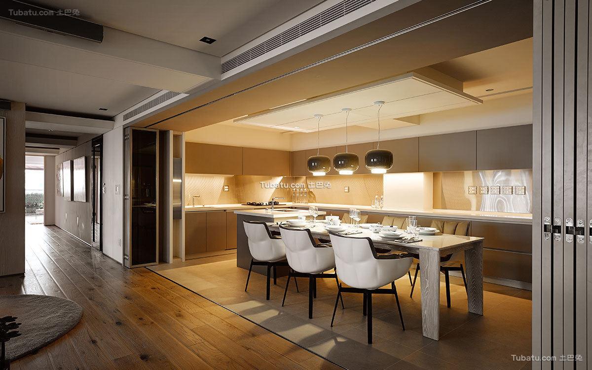 现代室内餐厅装修设计效果图