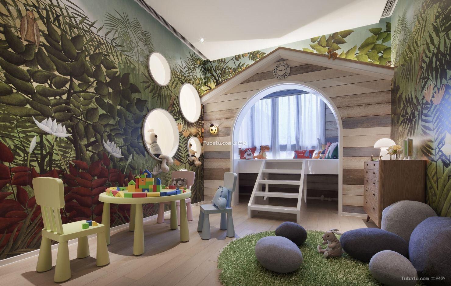 北欧设计儿童房