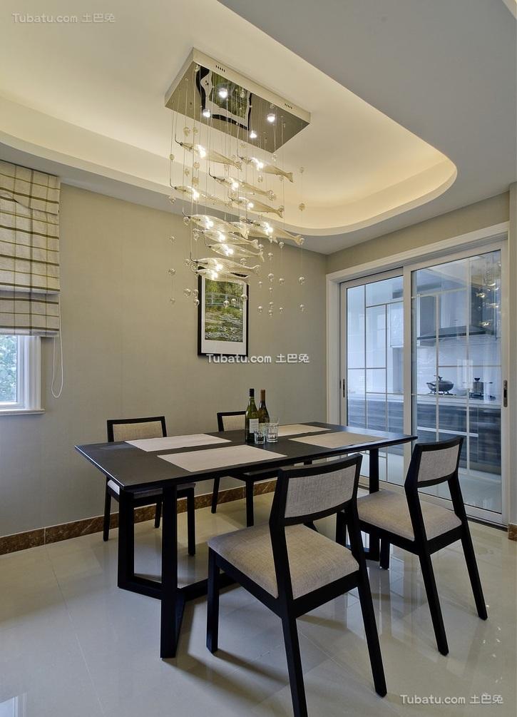 现代室内家居餐厅设计效果图