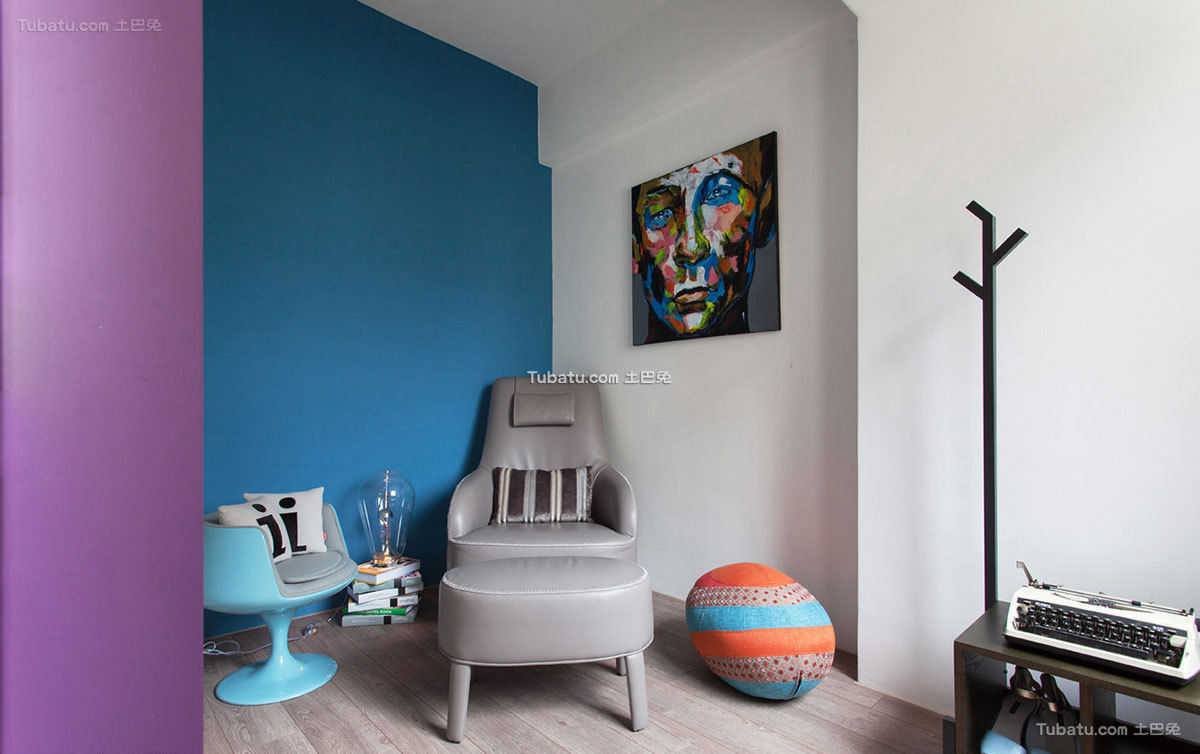 现代公寓室内沙发椅设计效果图