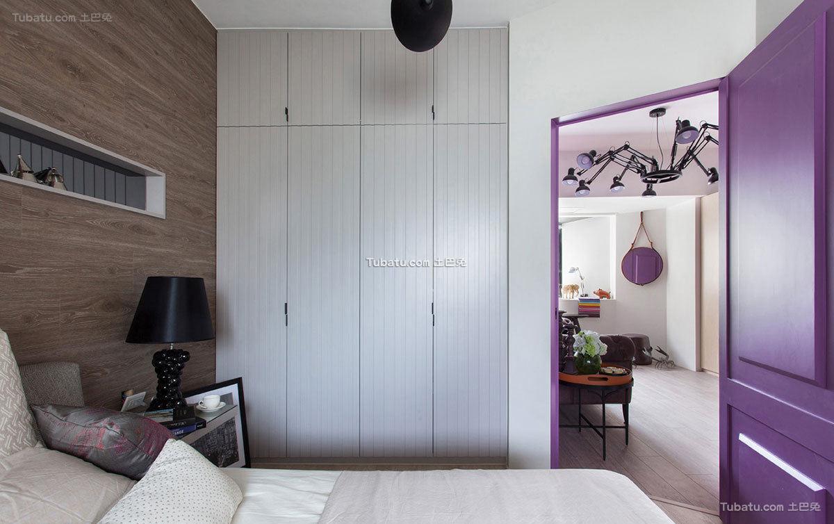现代公寓室内衣柜设计效果图