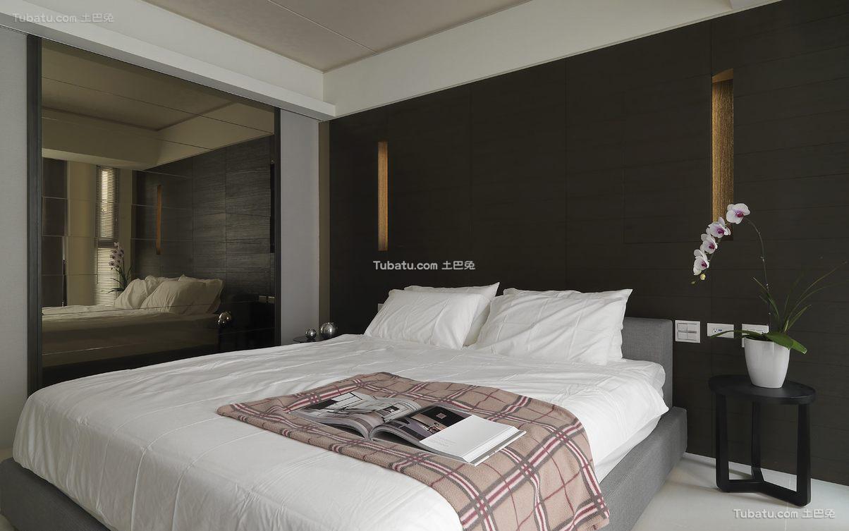 简约现代卧室室内设计效果图片
