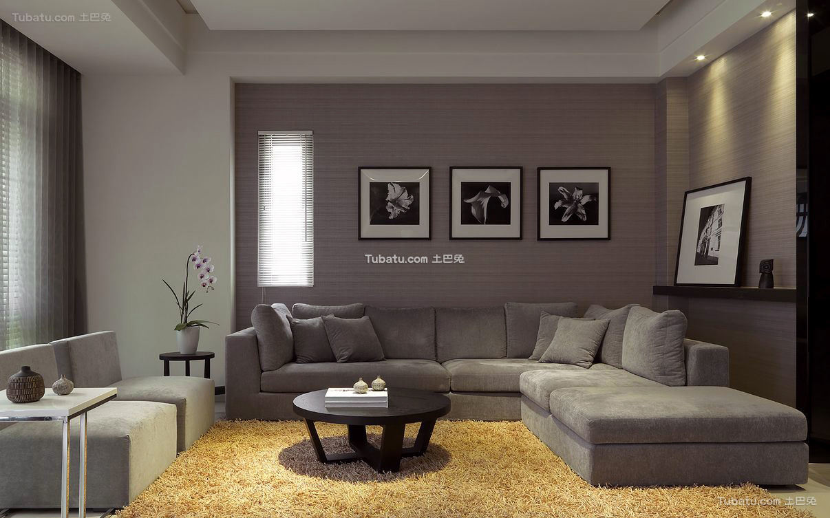 简约现代风格公寓室内设计效果图片