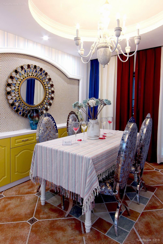 地中海设计时尚餐厅图