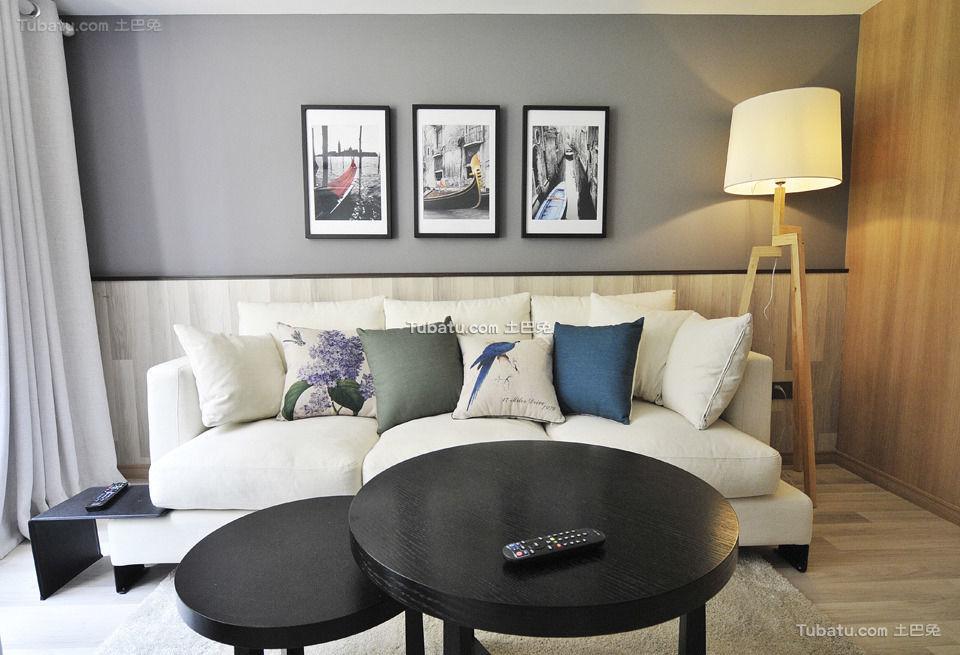 时尚现代客厅装饰布置