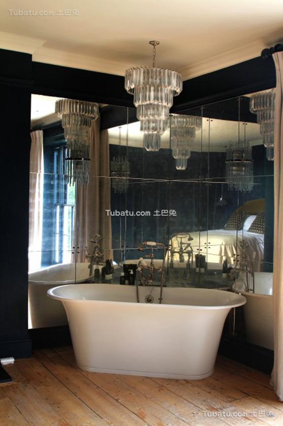复古奢华浴室设计
