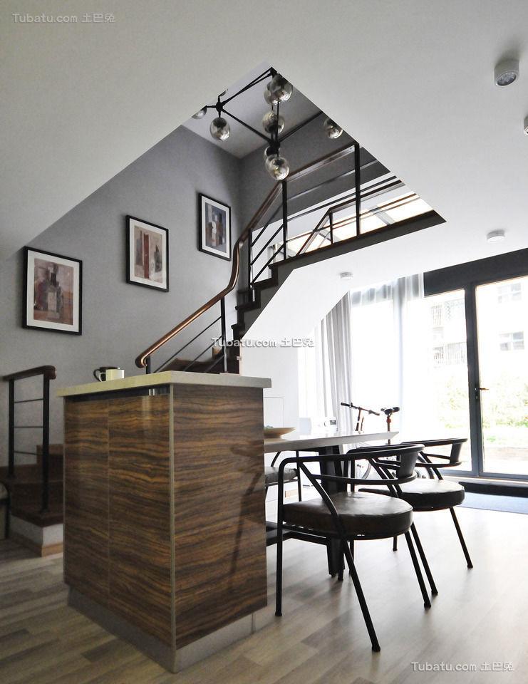 时尚现代家居楼梯装饰