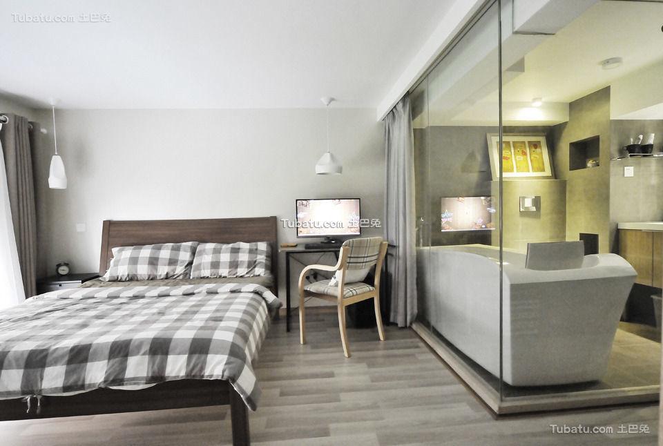 时尚现代家居卧室装潢大全