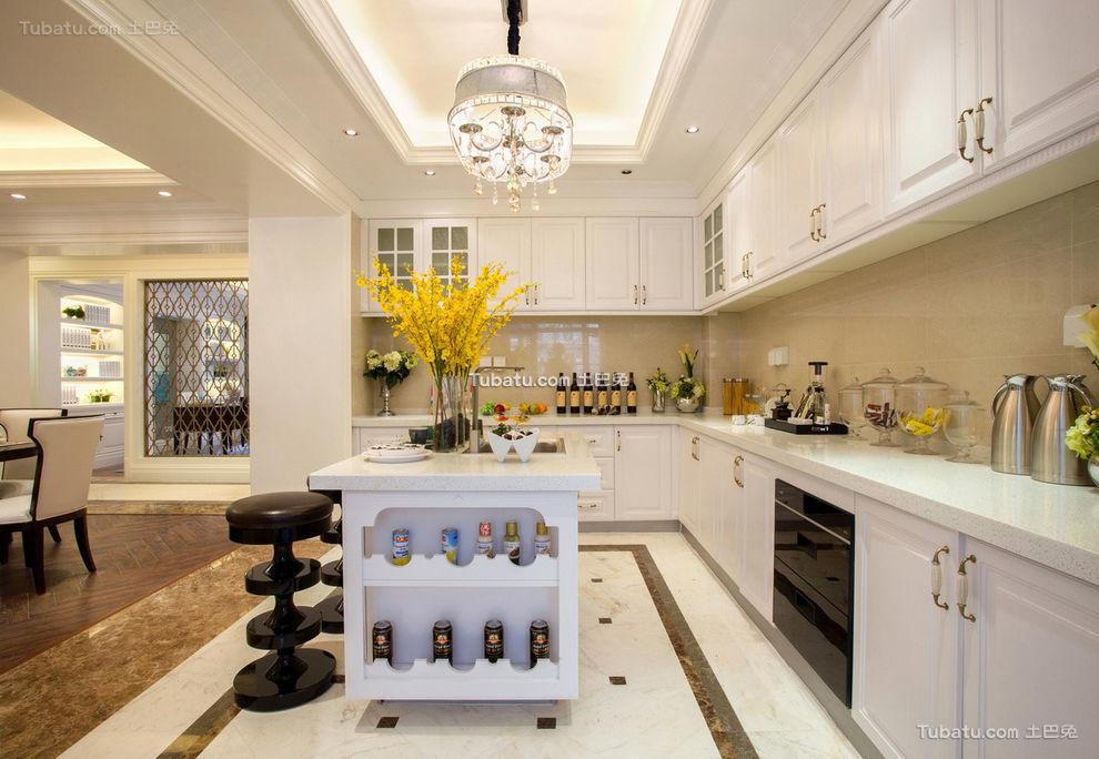 豪华现代美式厨房设计