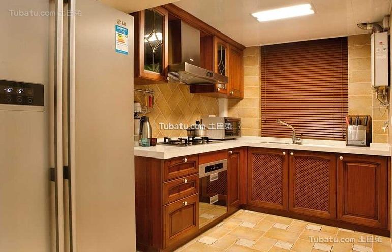 欧式风格厨房家居设计效果图