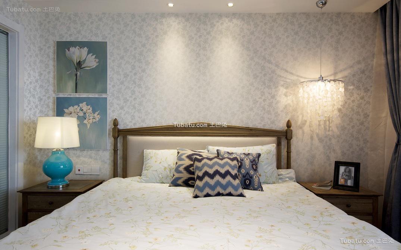 美式简约卧室设计效果图片欣赏