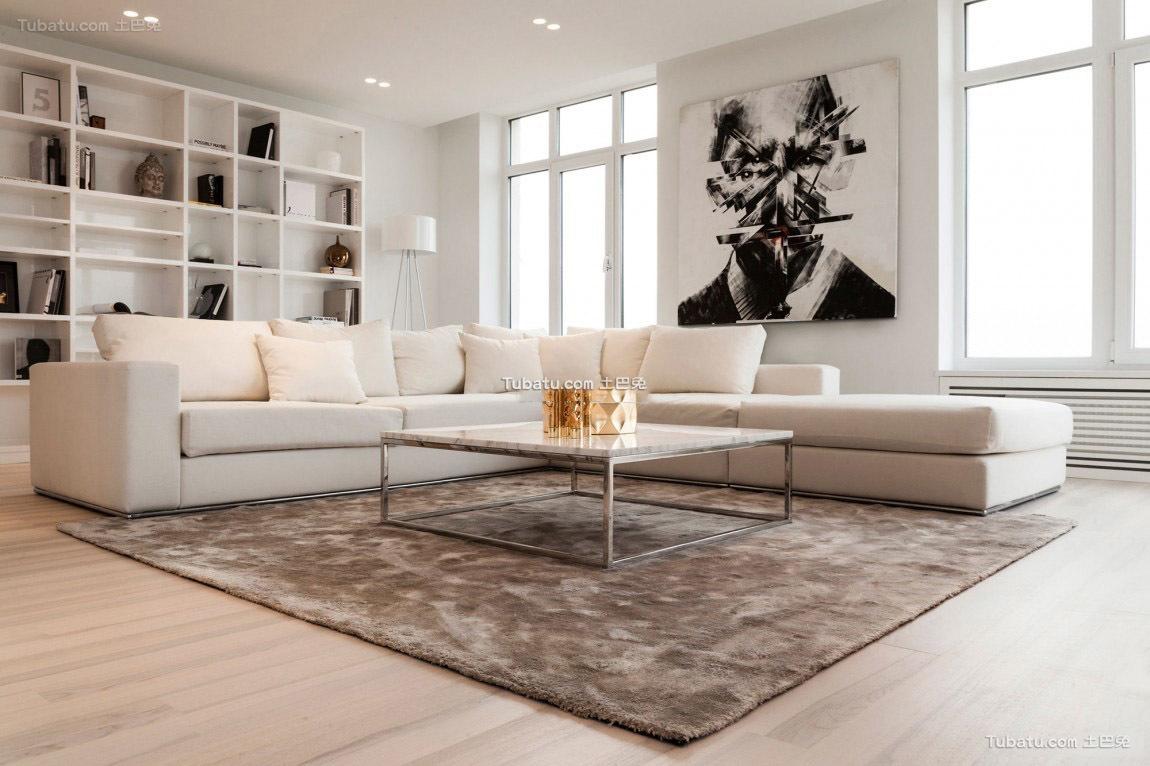 极简主义家居沙发设计