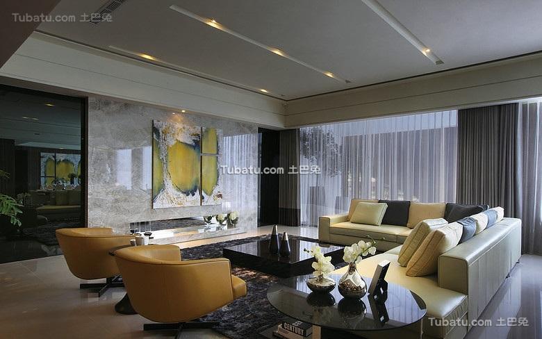 低奢现代风格二居室设计