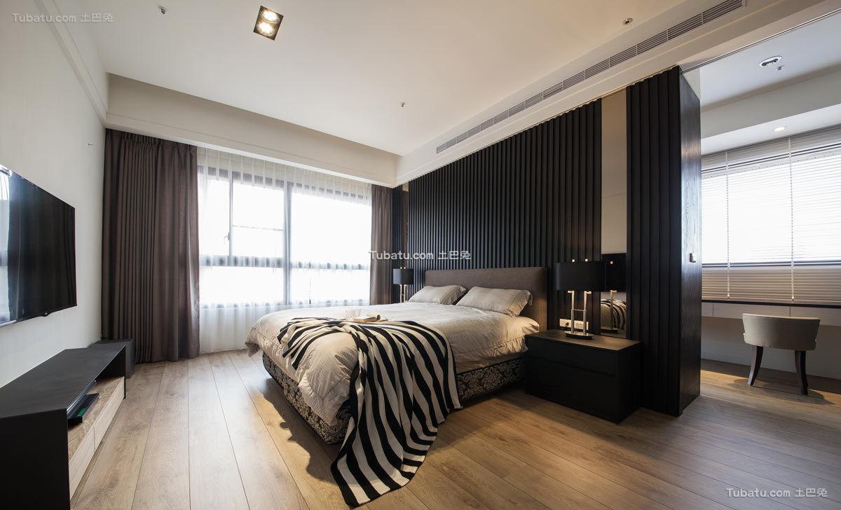 现代一居卧室装饰设计效果图片