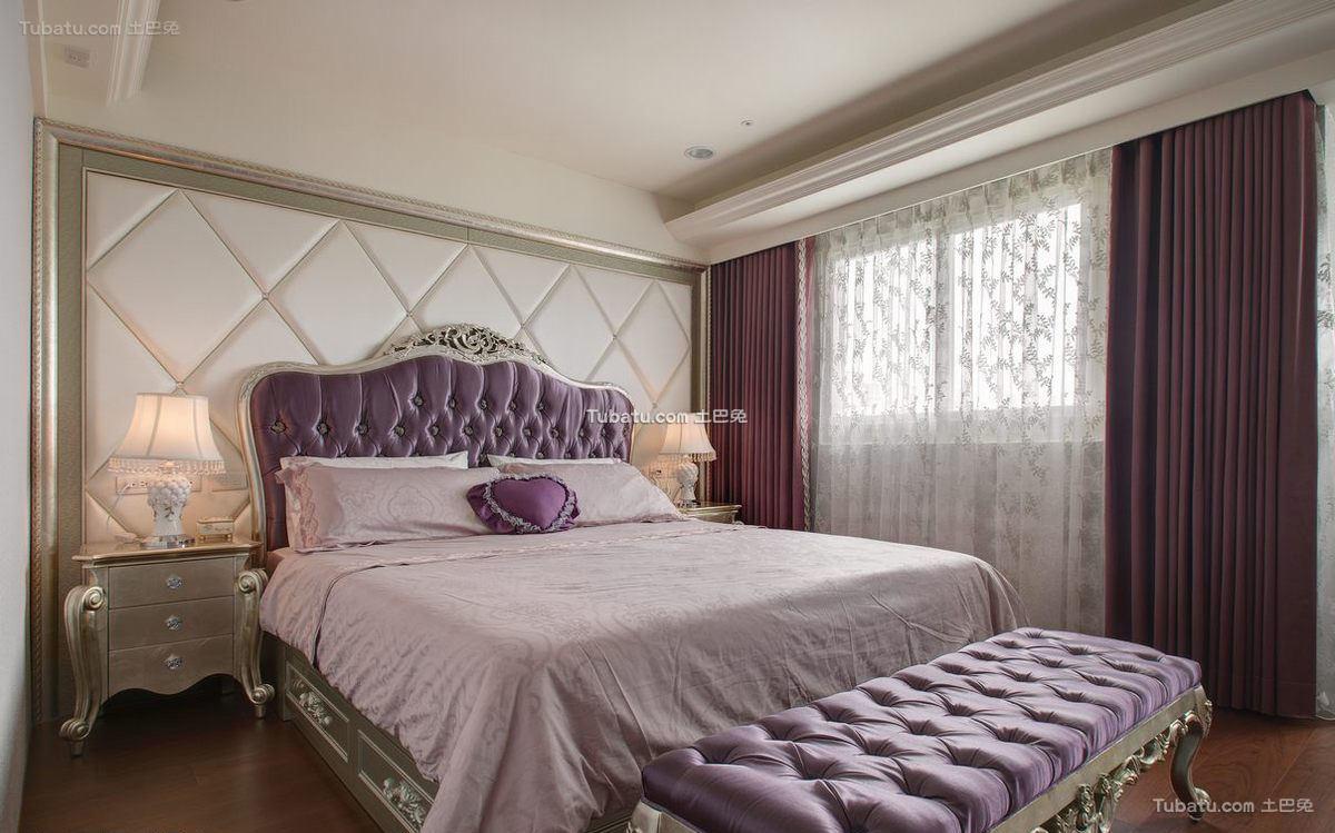 现代欧式卧室设计效果图片