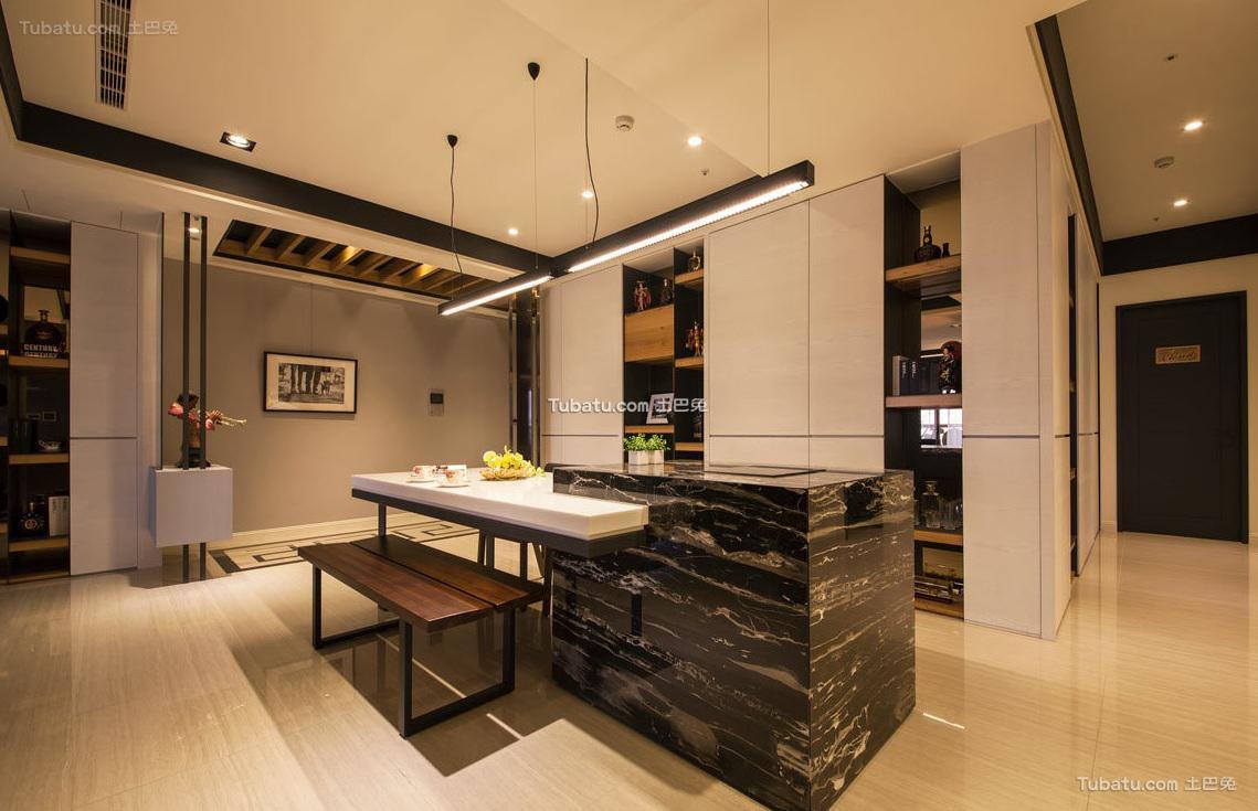 现代室内家居吧台设计效果图片