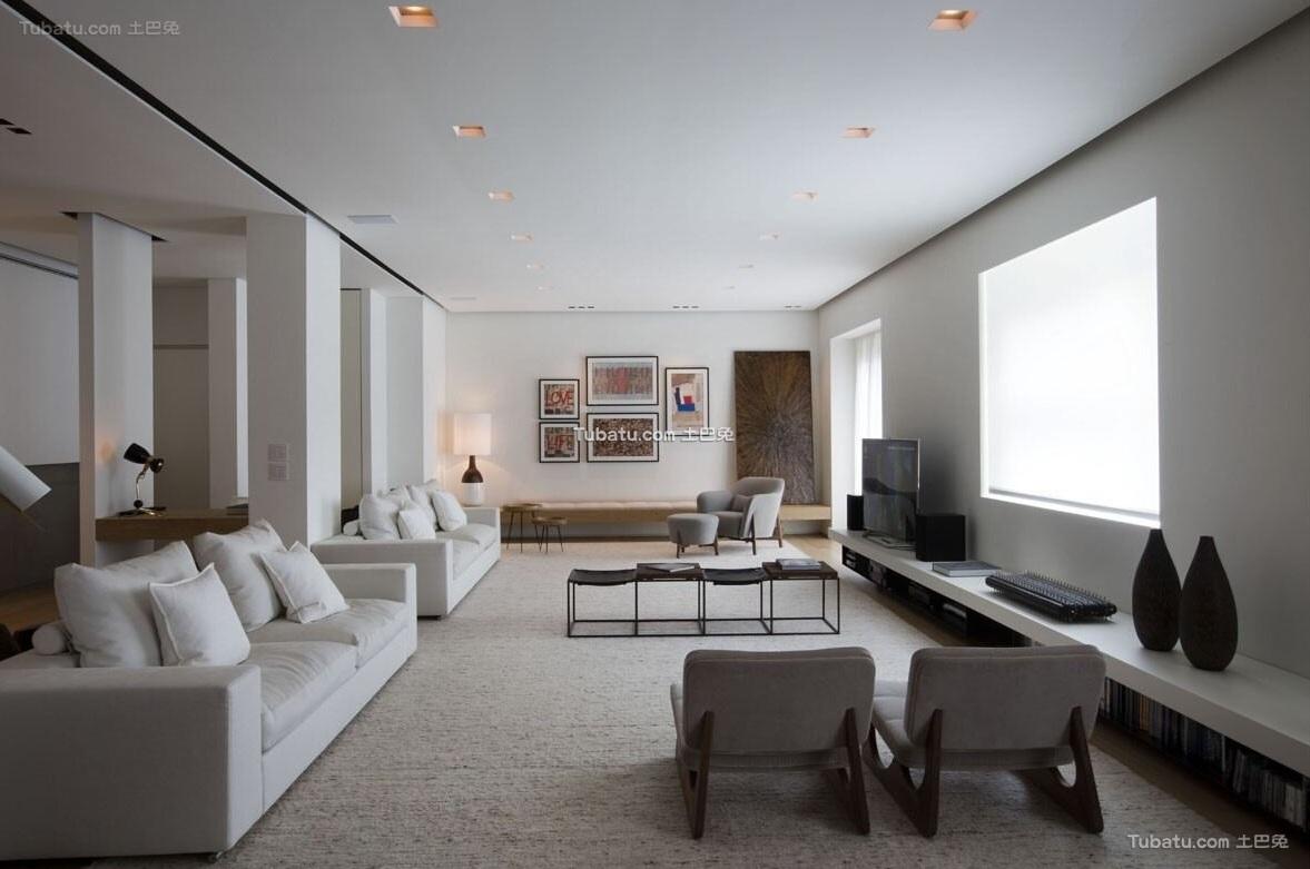 简约设计公寓室内装饰效果图