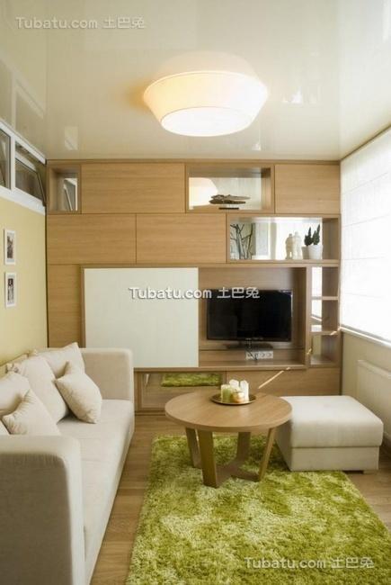 40平米简约公寓室内设计效果图