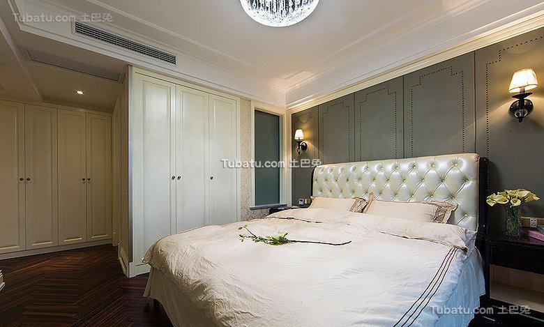 欧式家居卧室室内设计效果图