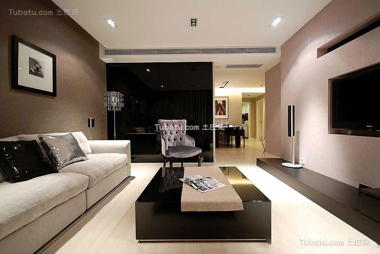 美式简约风格二居室设计