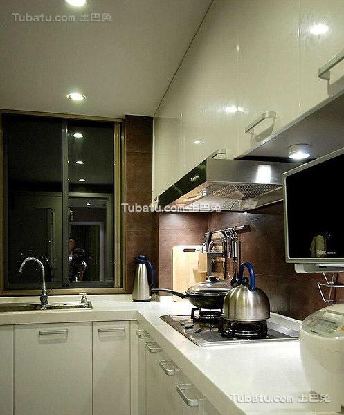 美式简约风格厨房设计