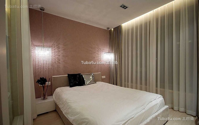 美式简约风格卧室设计