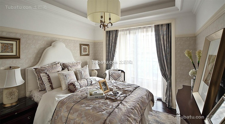 优雅欧式卧室装饰设计