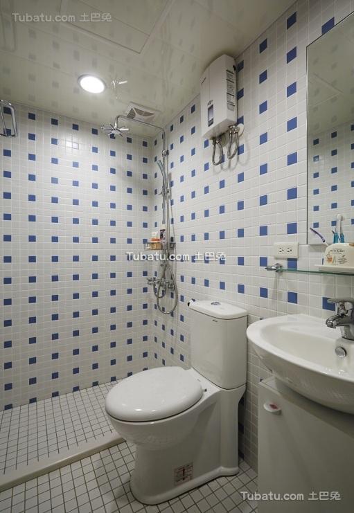 日式简约风格卫生间装修设计图片