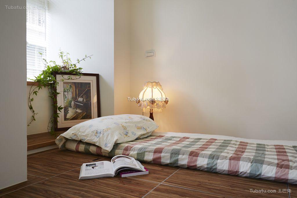 日式简约风格榻榻米卧室装修设计图片