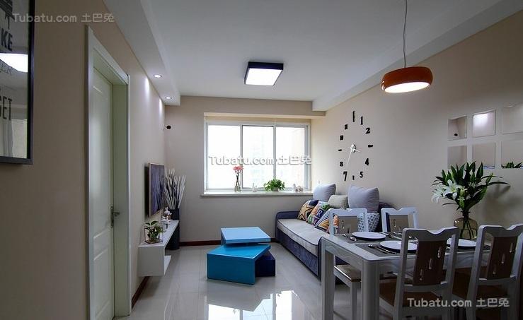 简约现代小户型室内装修效果图