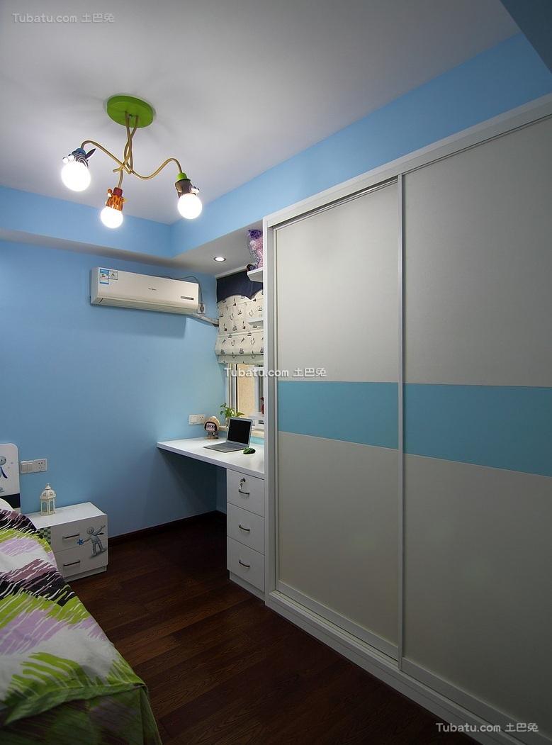 简约现代卧室衣柜装修效果图