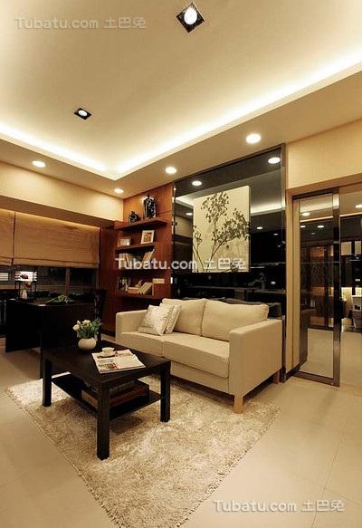 现代时尚日式二居室设计