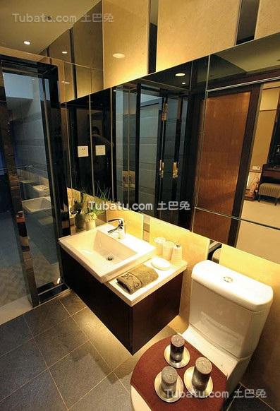 现代时尚日式卫生间设计
