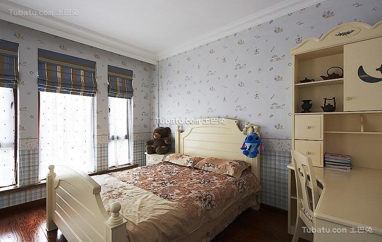 清新欧式儿童房设计