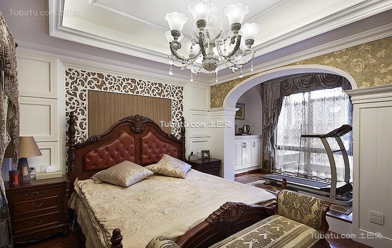 古典欧式卧室布置装饰大全