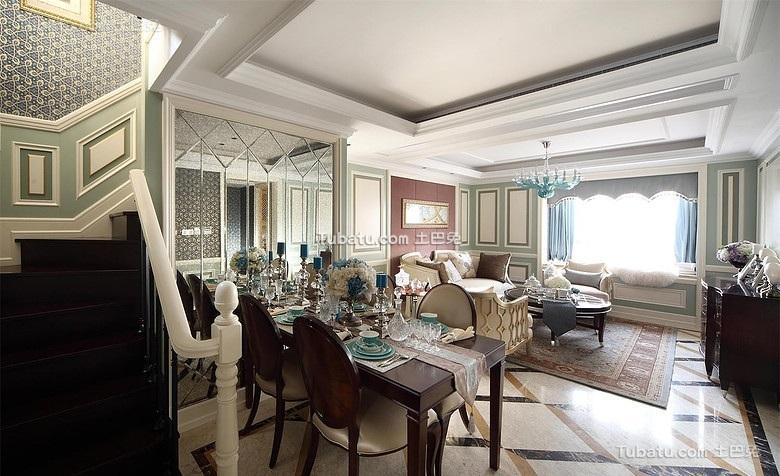 唯美奢华欧式餐厅设计