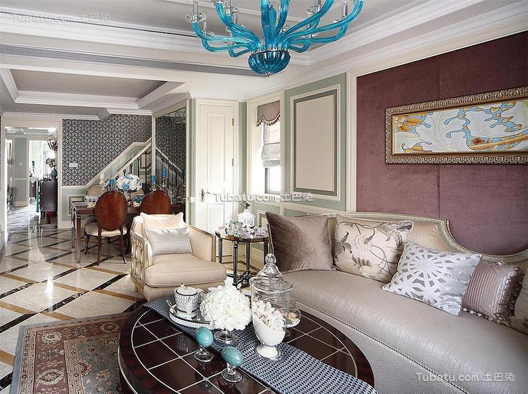 精致豪华欧式复式家居装潢