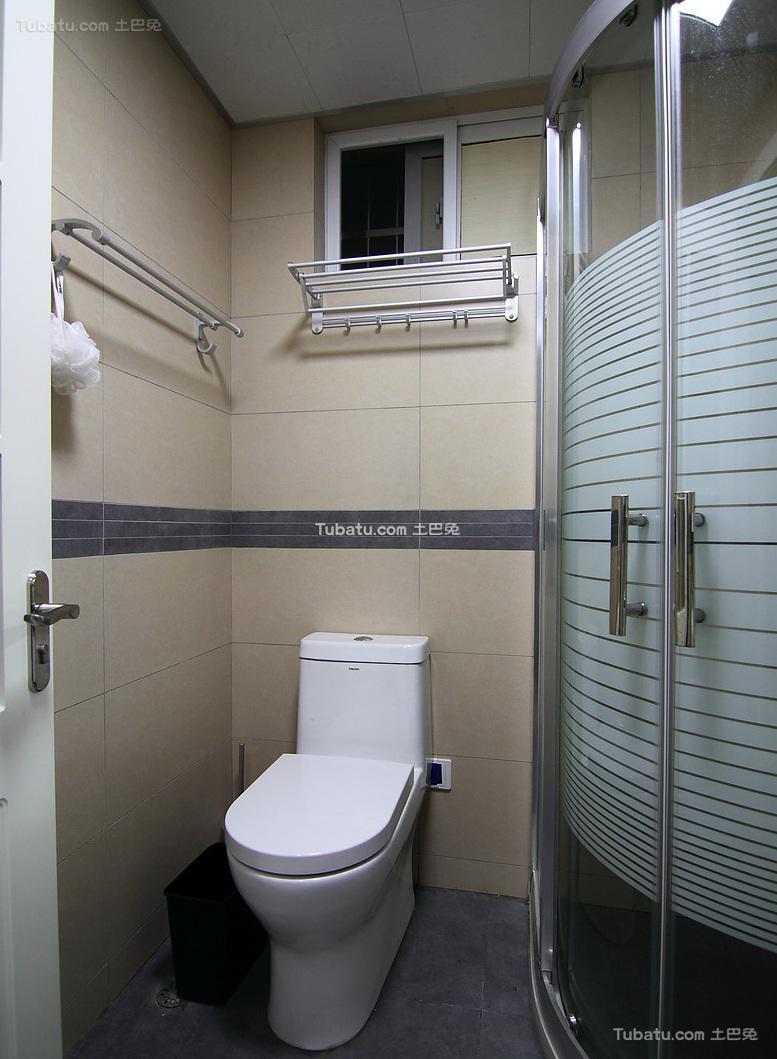 简约现代卫生间装修效果图片欣赏