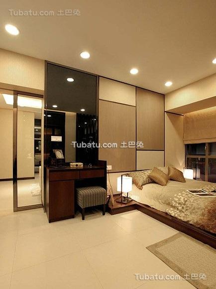 现代时尚日式卧室设计