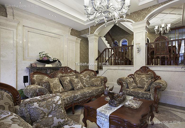 古典豪华欧式别墅装潢大全