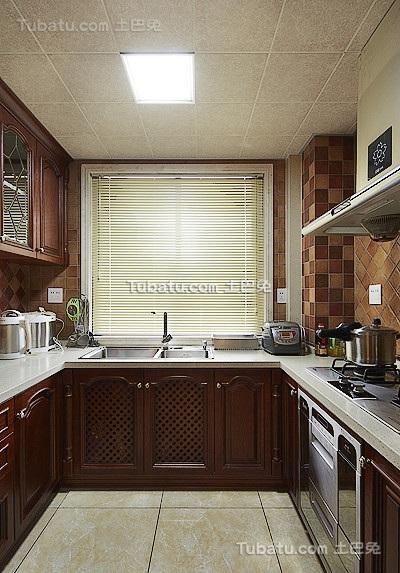欧式厨房设计装潢