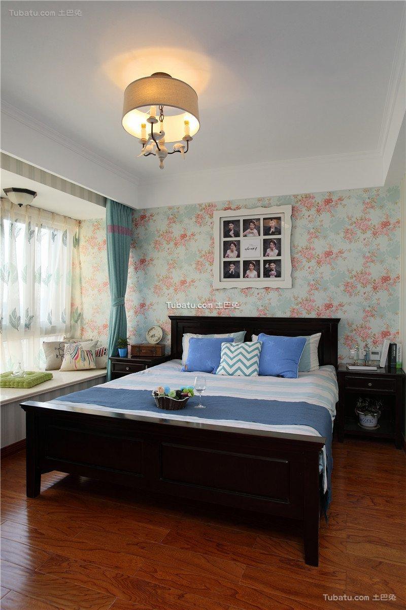 美式风格卧室装修设计效果图片