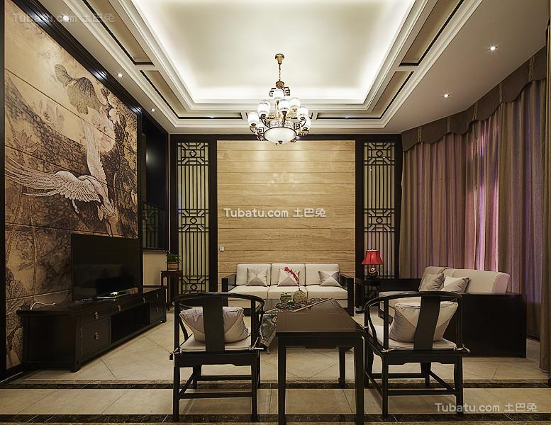新古典中式别墅装潢大全