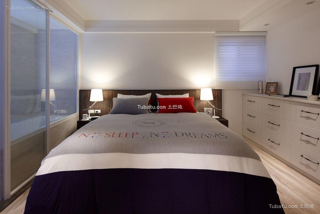 简约设计一居卧室设计图片