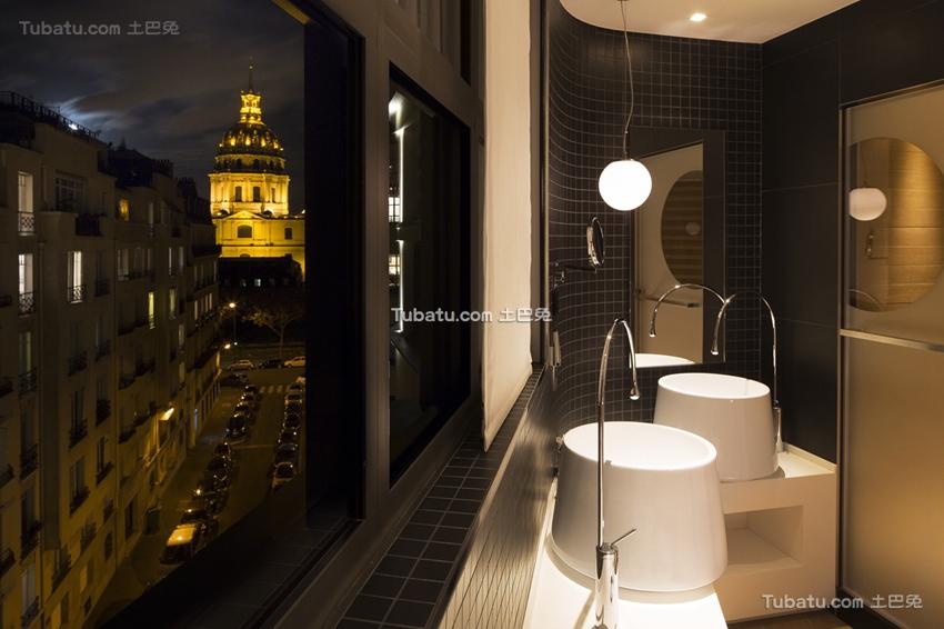 酒店室内卫生间图片欣赏