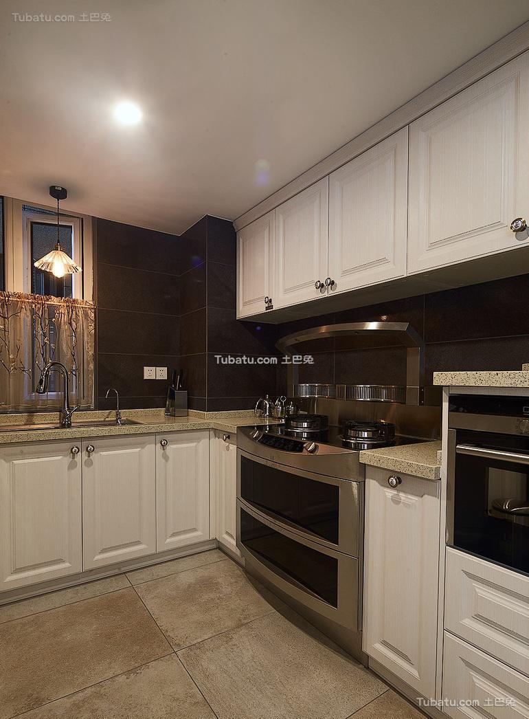 现代简约欧式厨房效果图片