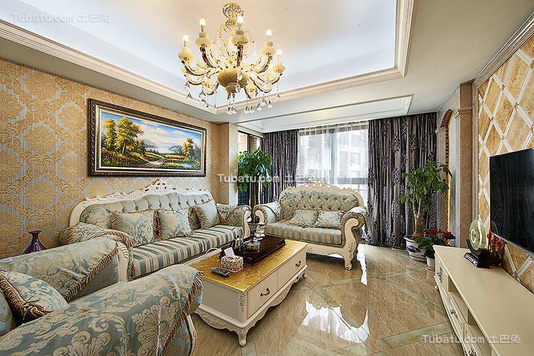精致欧式客厅设计案例